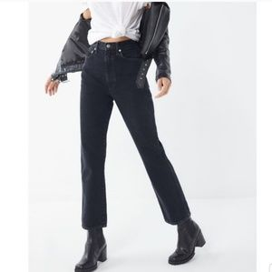 Agolde Pinched Waist High Rise Kick Jeans